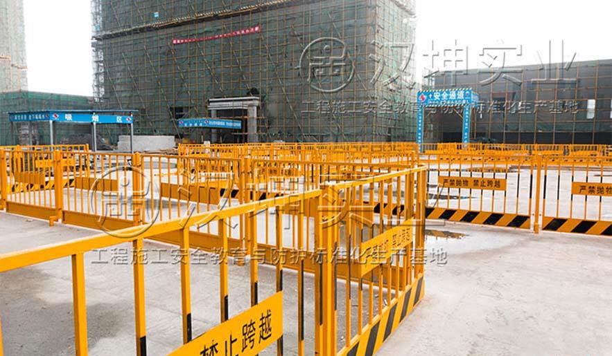 施工现场临边防护栏杆